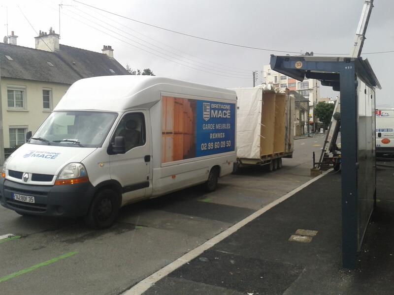 caisse de garde meubles box de stockage domicile avec monte meubles